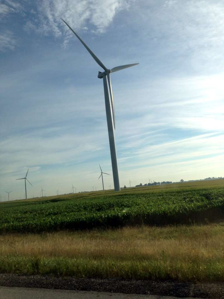 Indiana Interstate windmills