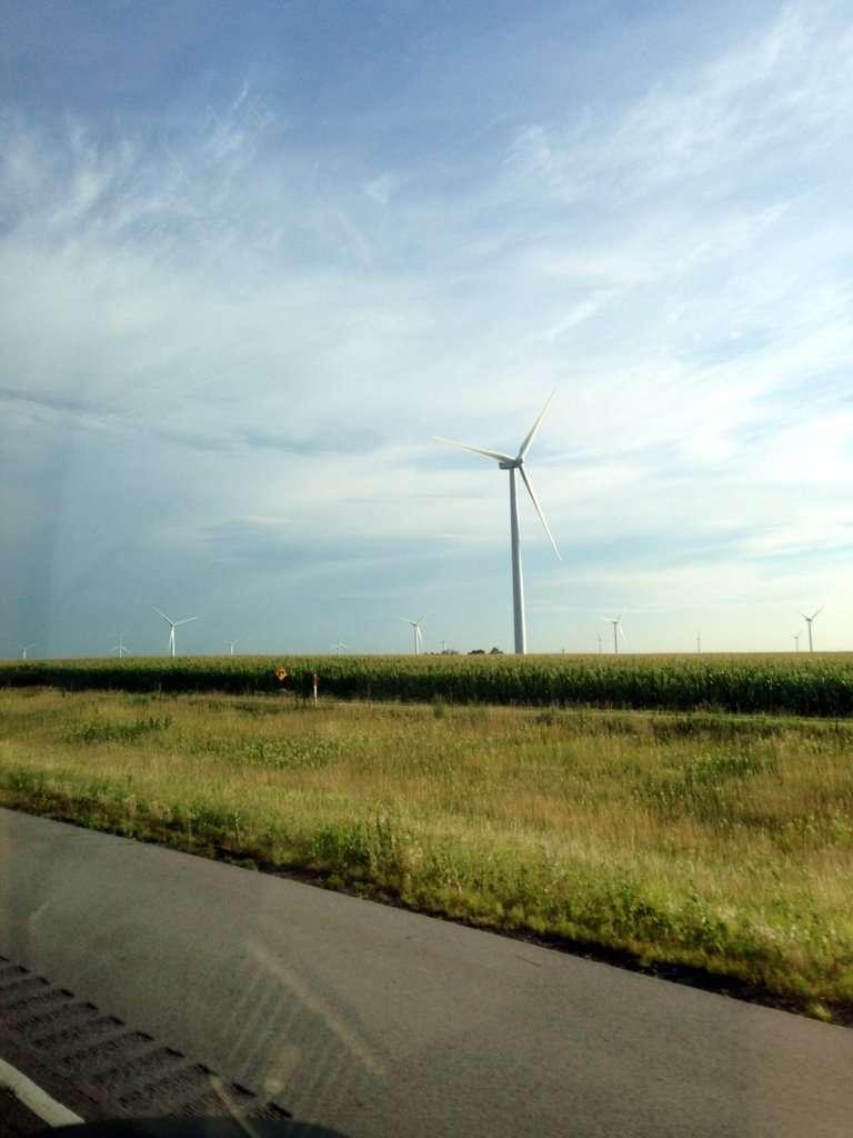 Indiana Interstate Windmills
