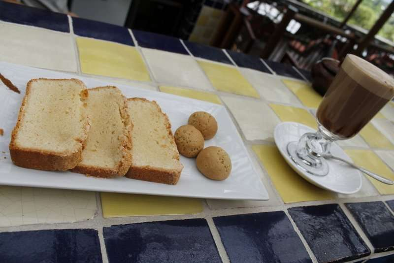 Coffee and pastries in Costa Rica