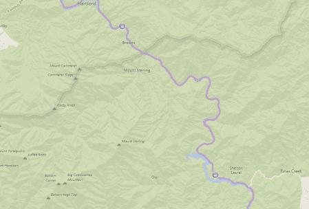 Tennessee Interstate Snake Highway