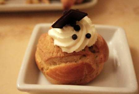 Chocolate Cream Puff Be Our Guest
