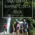 Waterfall Rappel Canyoning Costa Rica