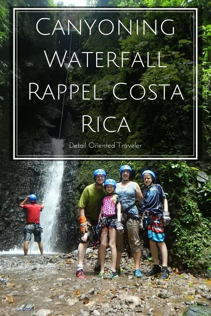 What it's really like to do a canyoning waterfall rappel in Costa Rica