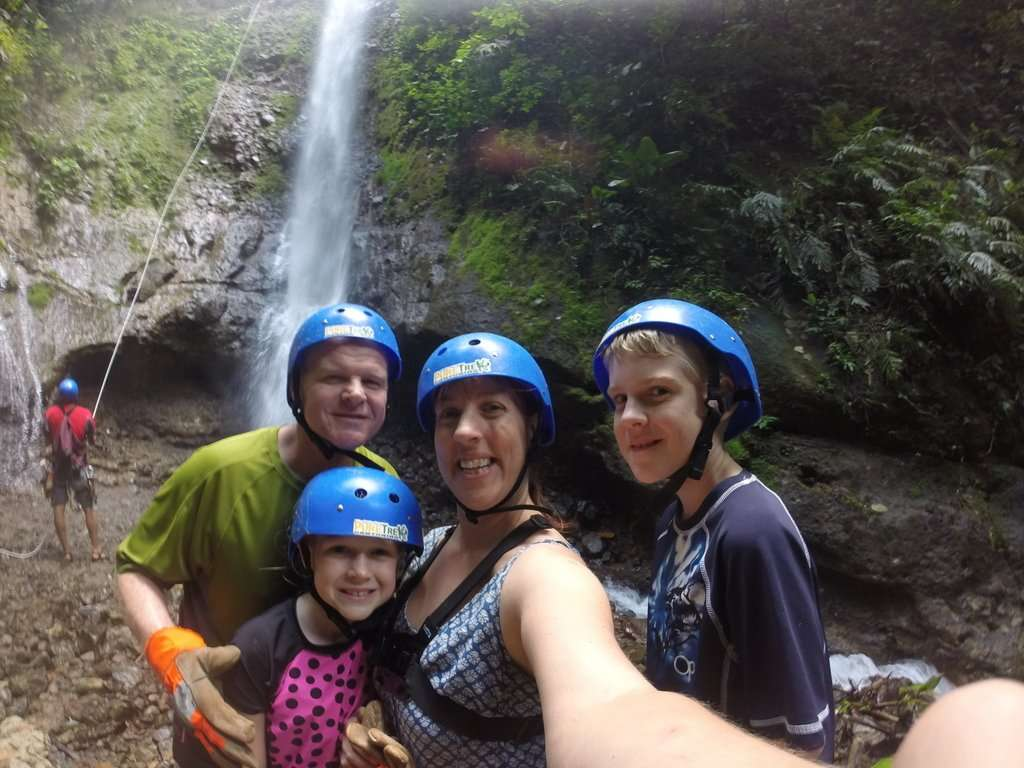 Canyoning Waterfall Rappel in Costa Rica