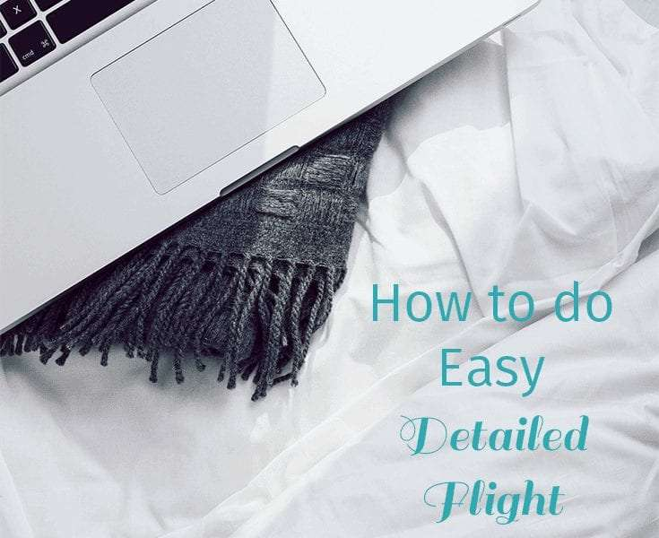 How to do easy flight travel planning