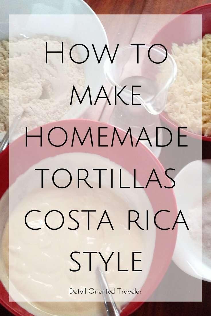 homemade tortillas by Detail Oriented Traveler