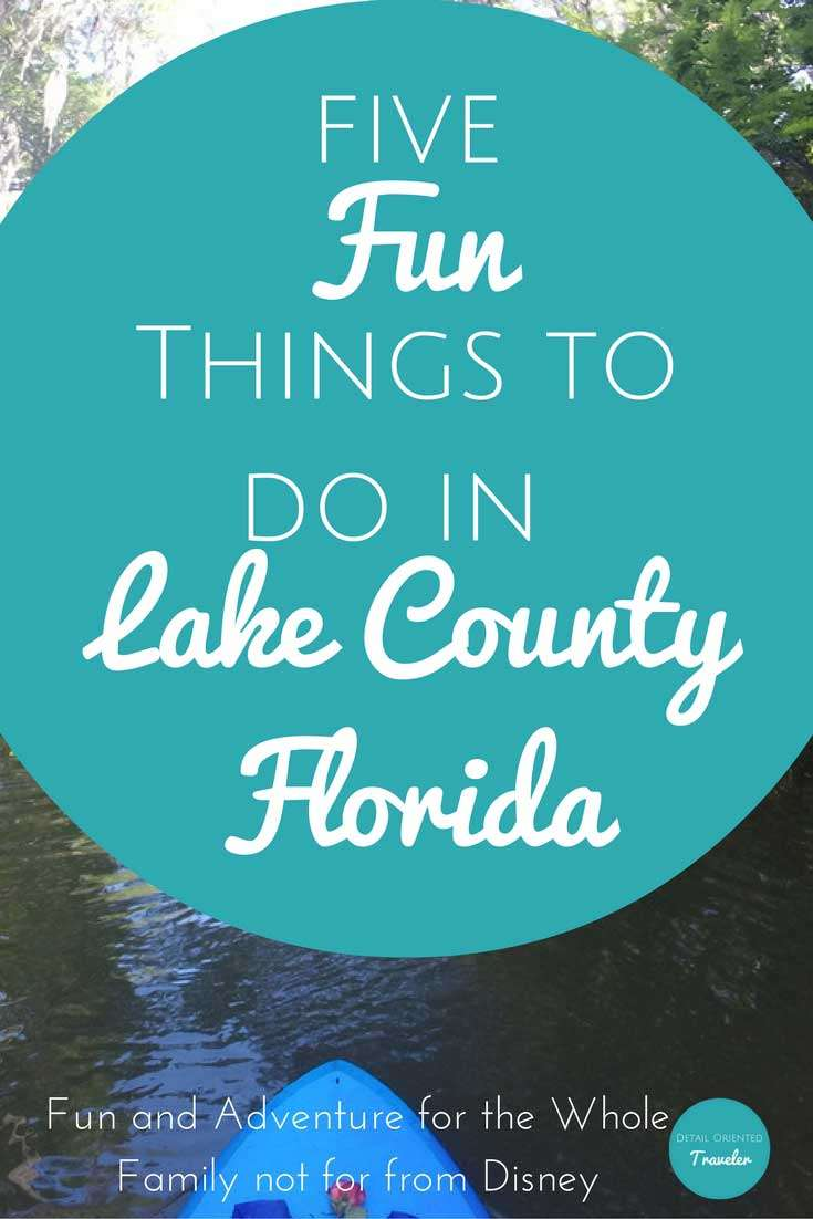 Lake County, Florida fun things to do near Disney