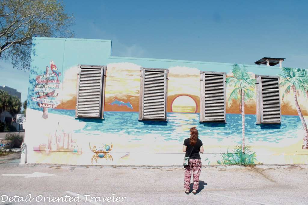 Exploring grand Central District St. Petersburg Florida
