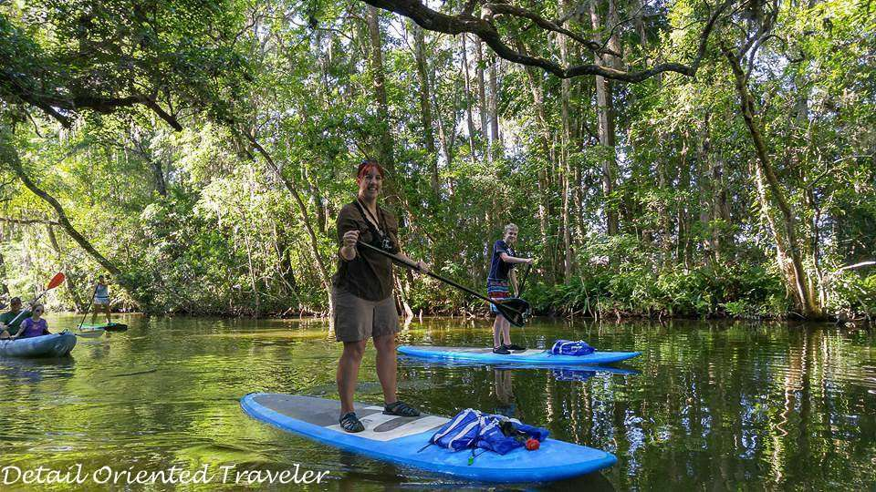 Stand Up Paddleboarding Adventure in Authentic Central Florida