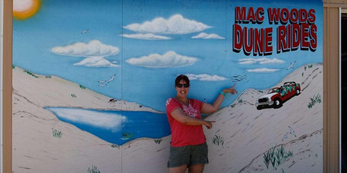 Mac Wood's Sand Dunes Ride in Silver Lake Michigan
