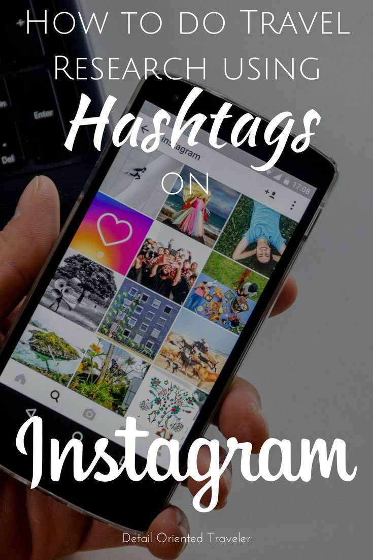 Do you know you can research your travel destination with Instagram? Here's how you search instagram for travel research using Hashtags.