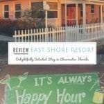 East Shore Resort in Clearwater Florida is a delightfully detailed family run resort.