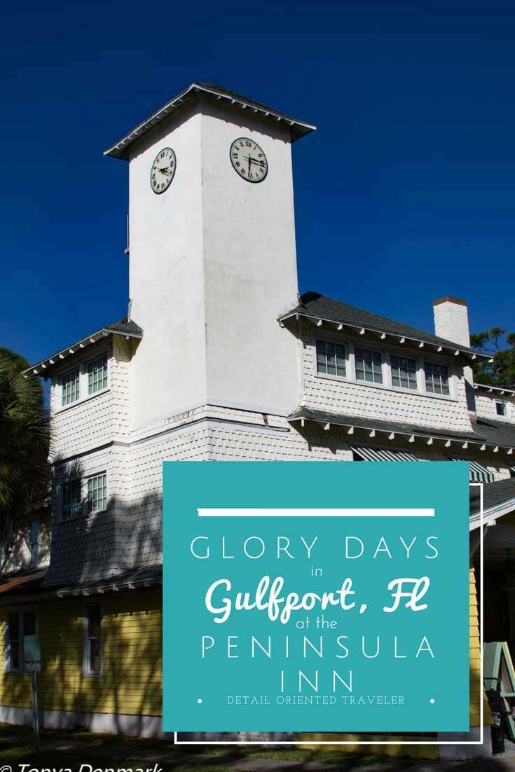 Glory Days in Gulfport Florida at the Peninsula Inn - a family friendly laid back town full of eclectic charm.