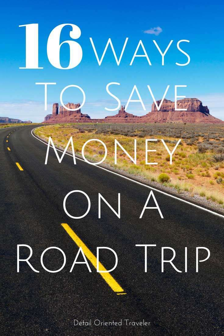 16 Tips that will Help You Save Money on your next family vacation Road Trip