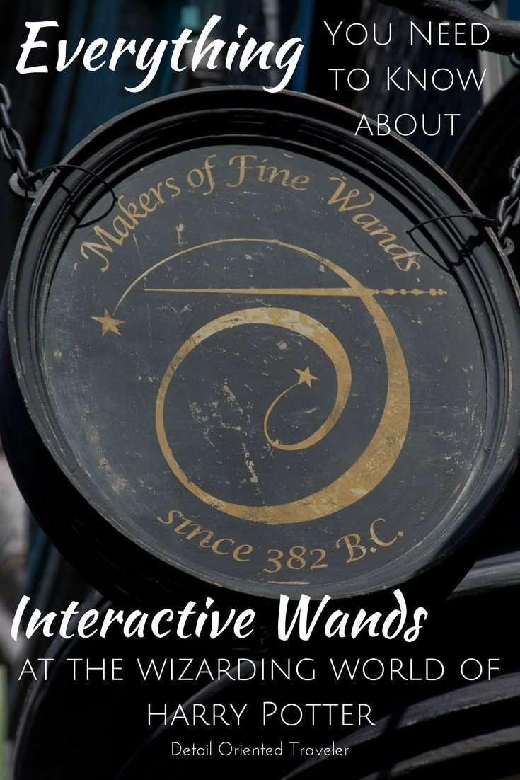 Interactive Wands Pin