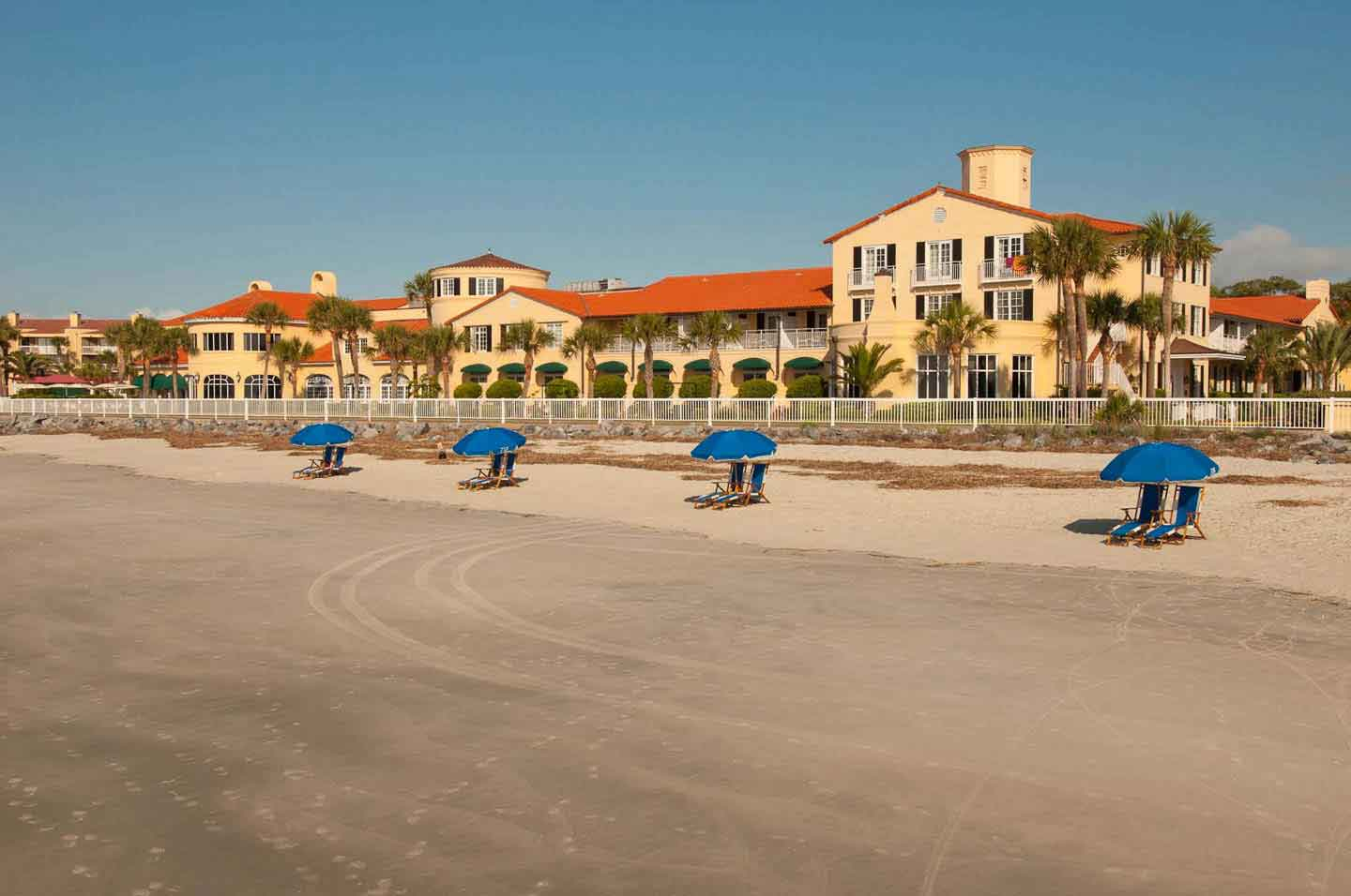 The Family Friendly King and Prince Resort On St Simons Georgia