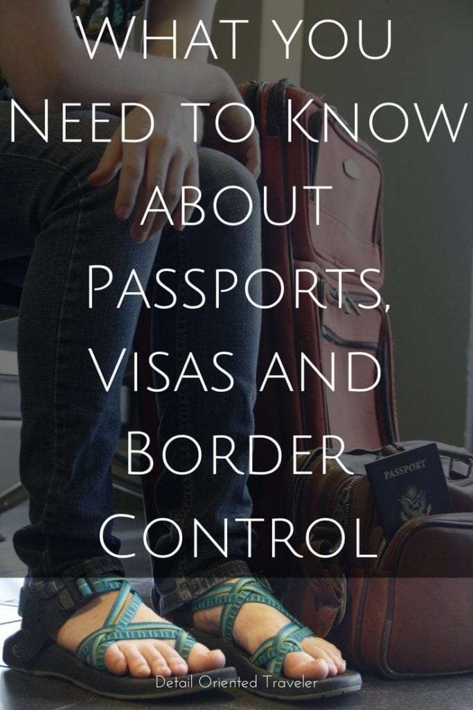 What you need to know about passports, visas and border control