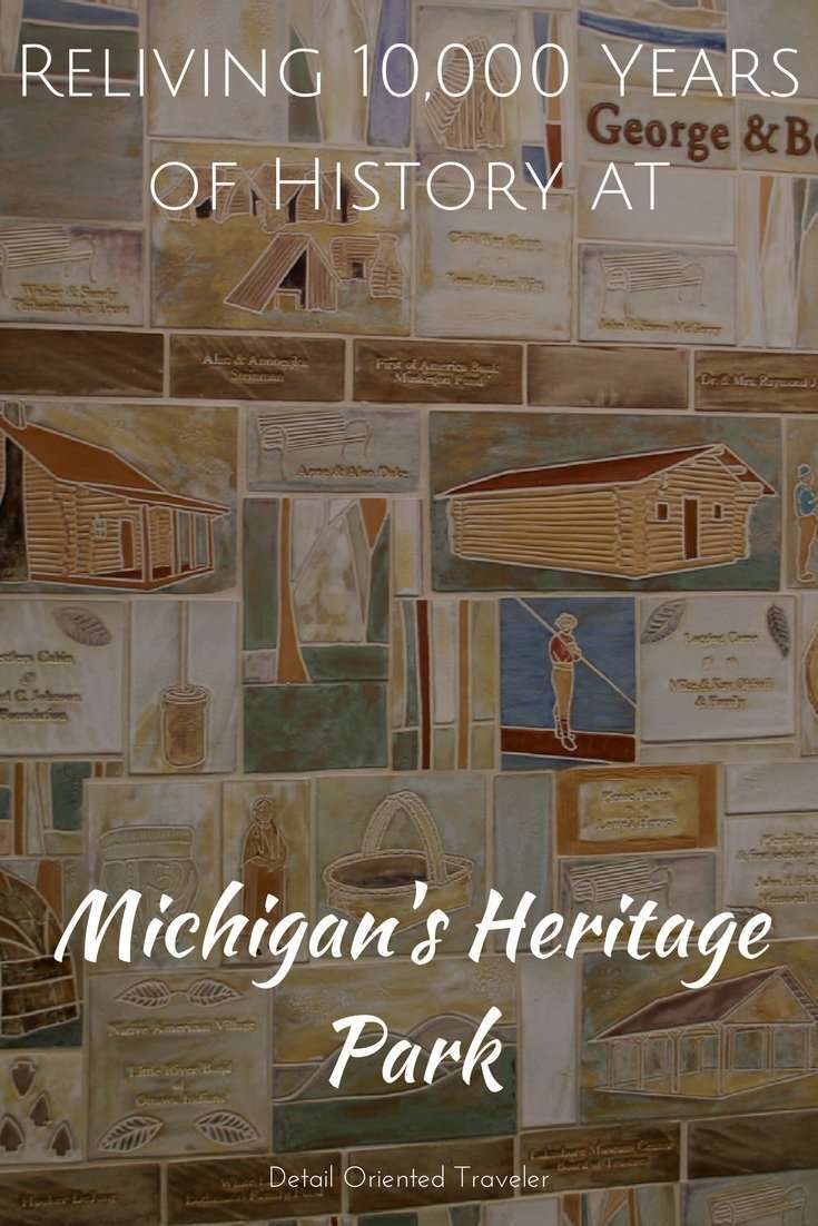 Reliving 10,000 Years of History at Michigan's Heritage Park, A Living History Museum in Muskegon Michigan