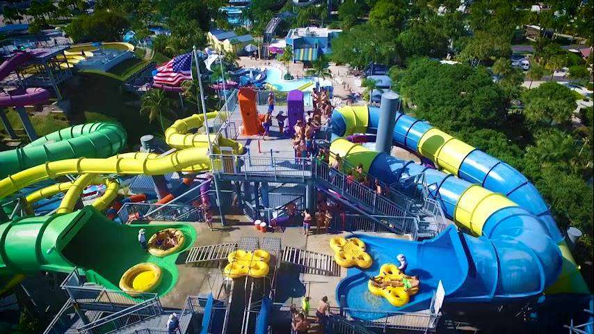 Rapids Water Park in Palm Beach