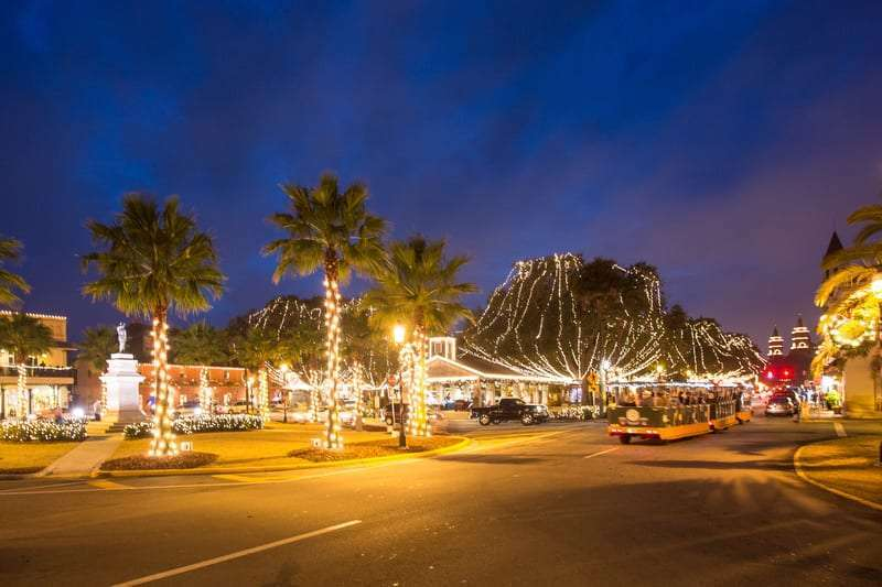 holidays in st. augustine