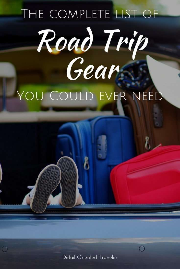 The complete guide to road trip gear with everything you could ever need