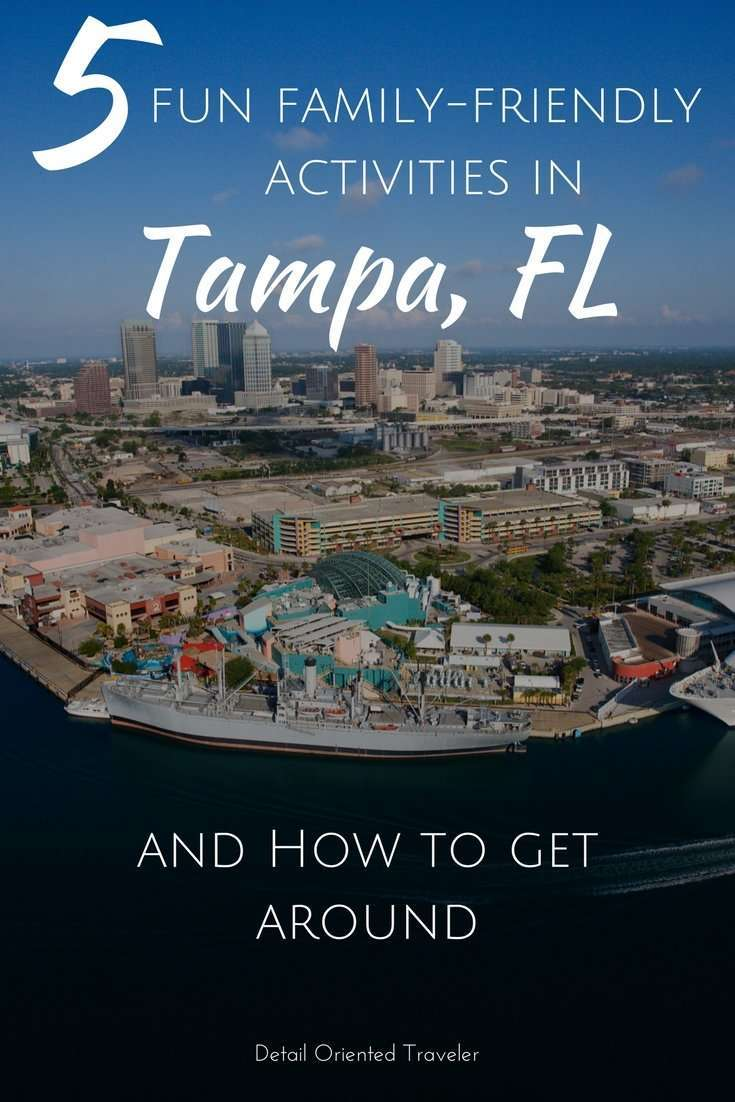 family friendly activities in tampa