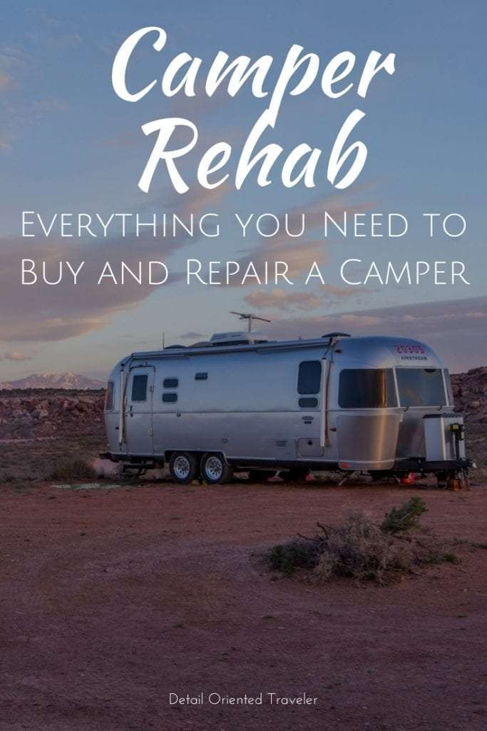Camper Rehab - Everything you need to buy and repair a camper