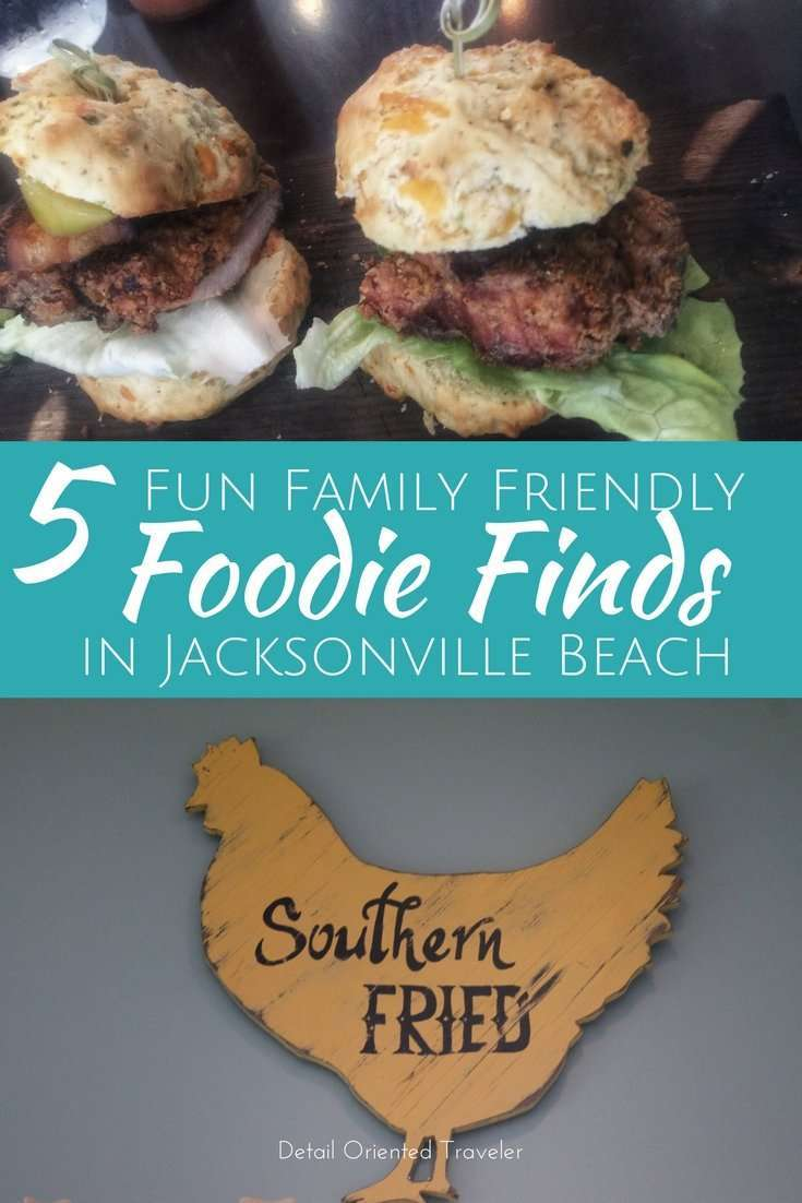 5 Fun Family Friendly Foodie Finds in Jacksonville Beach