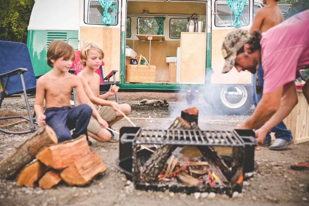 Essentials for a first-time camper