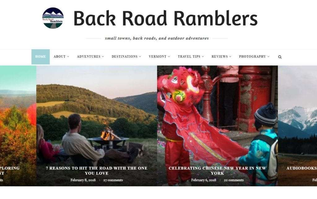 Back Road Ramblers Ultimate Road Trip Bloggers