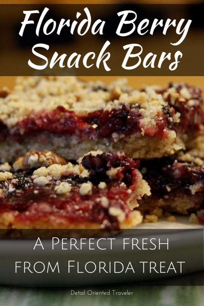 Fresh From Florida Berry Snack Bar