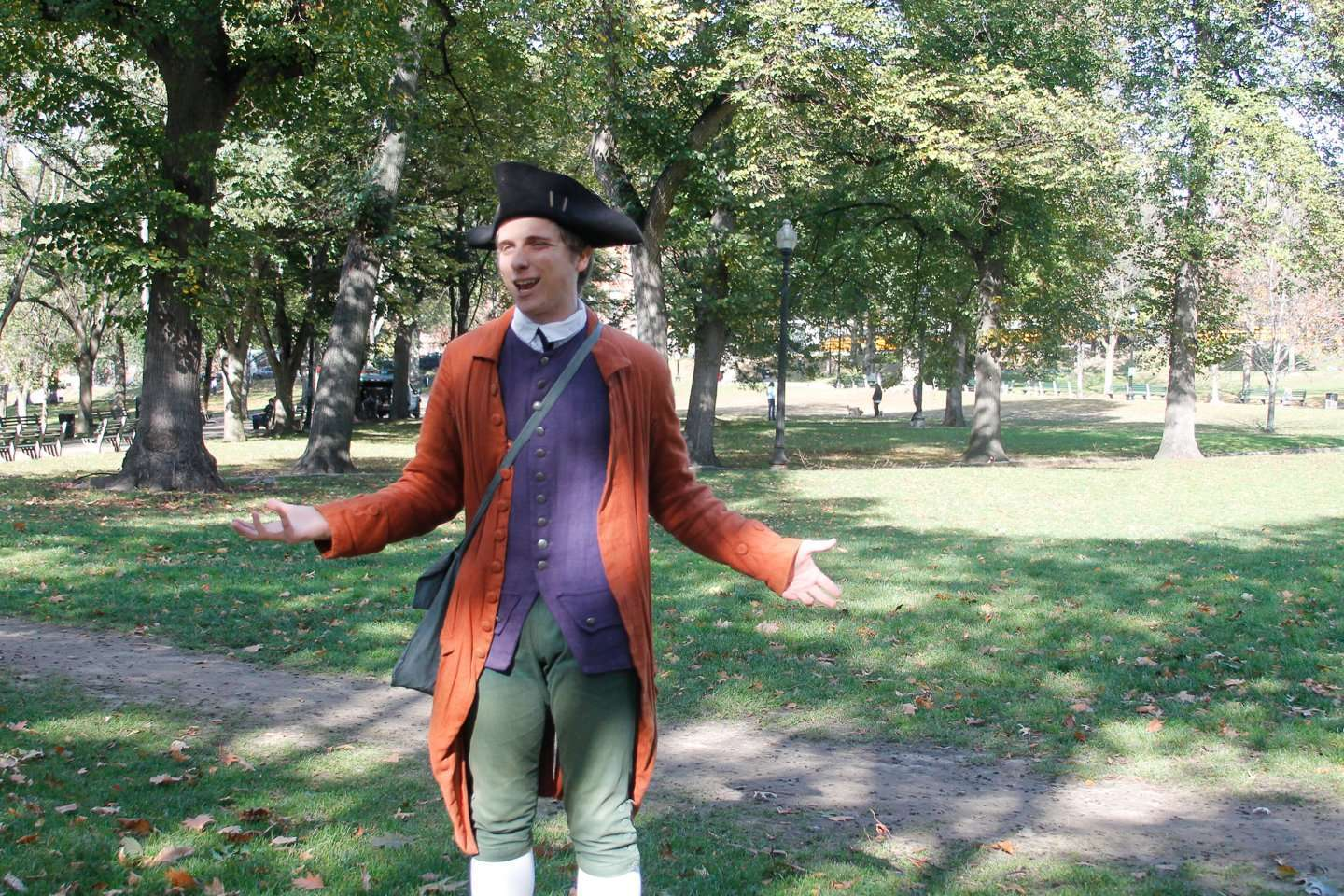 Living History Museums - Freedom Trail Boston guided tour