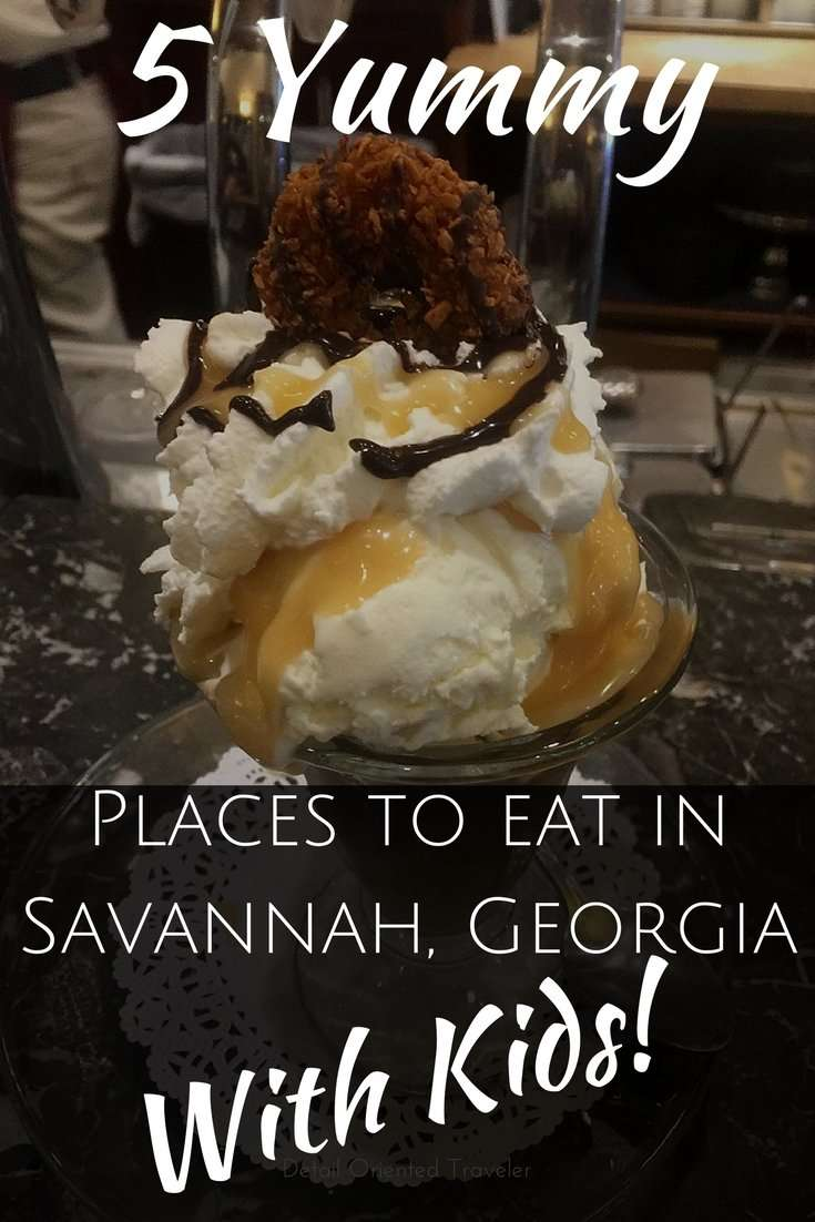 5 Yummy Places to eat in Savannah