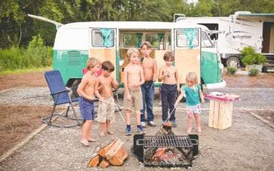 7 S'mores Recipes for Camping or Beach Bonfires