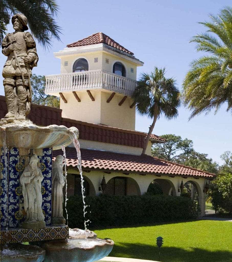 Mission Inn Courtyard Fountain