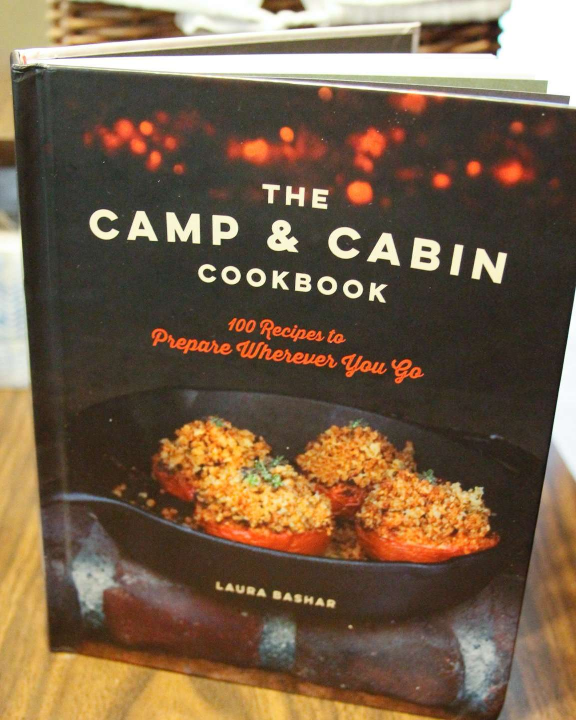 The Camp & Cabin cookbook is perfect for camping recipes.