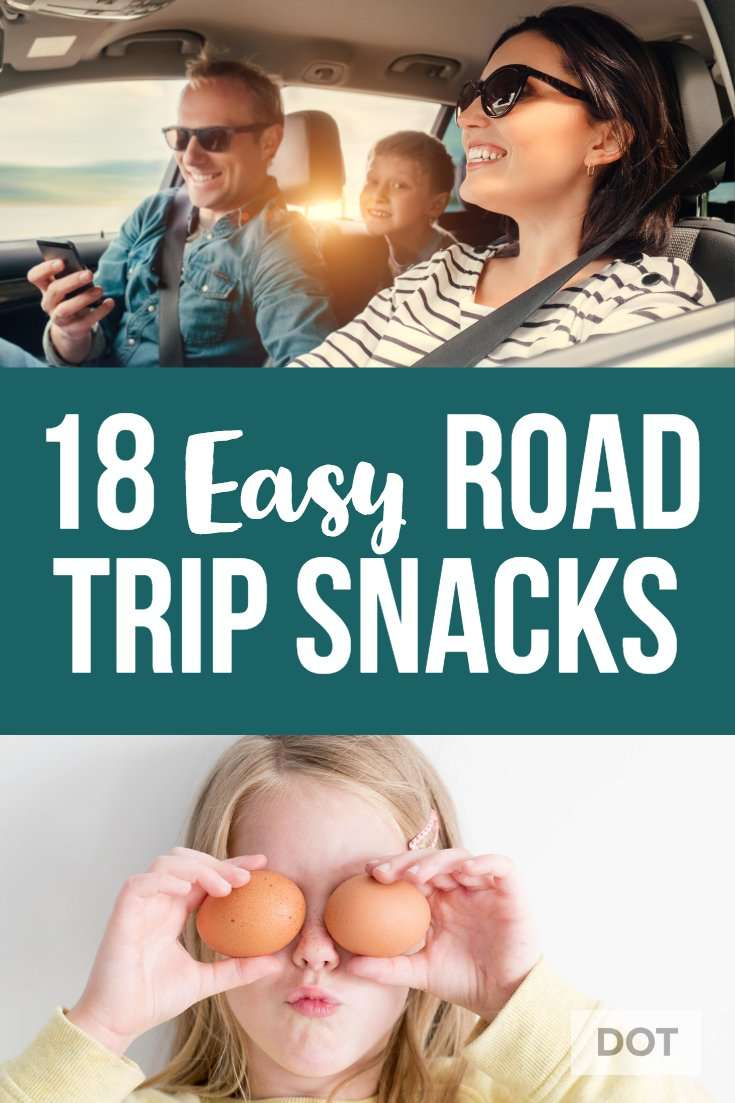 Easy Road Trip Snacks for Kids