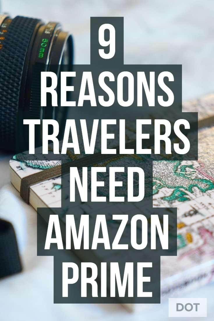 Amazon Prime for Travelers Pin