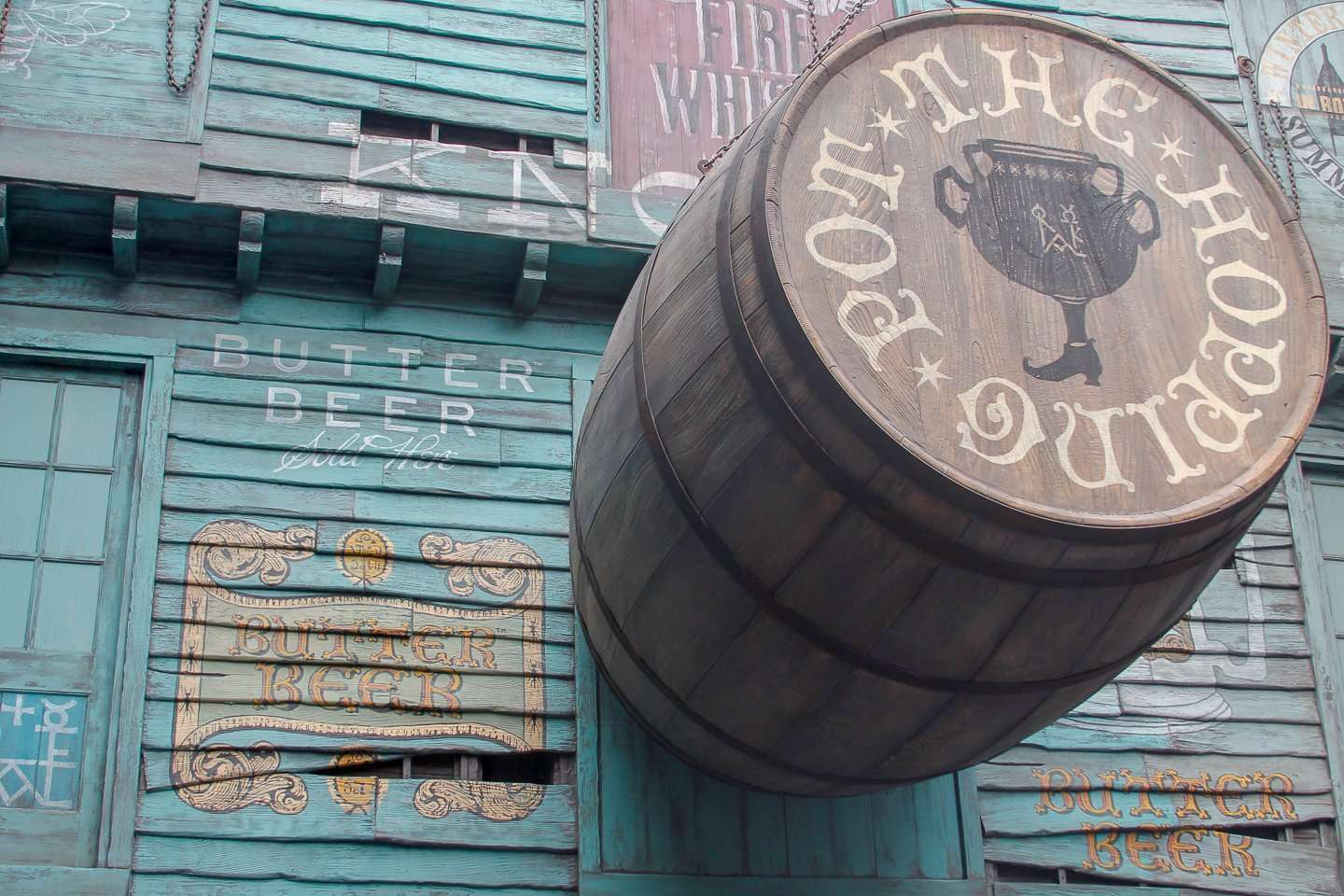 The Hopping Pot for Butterbeer