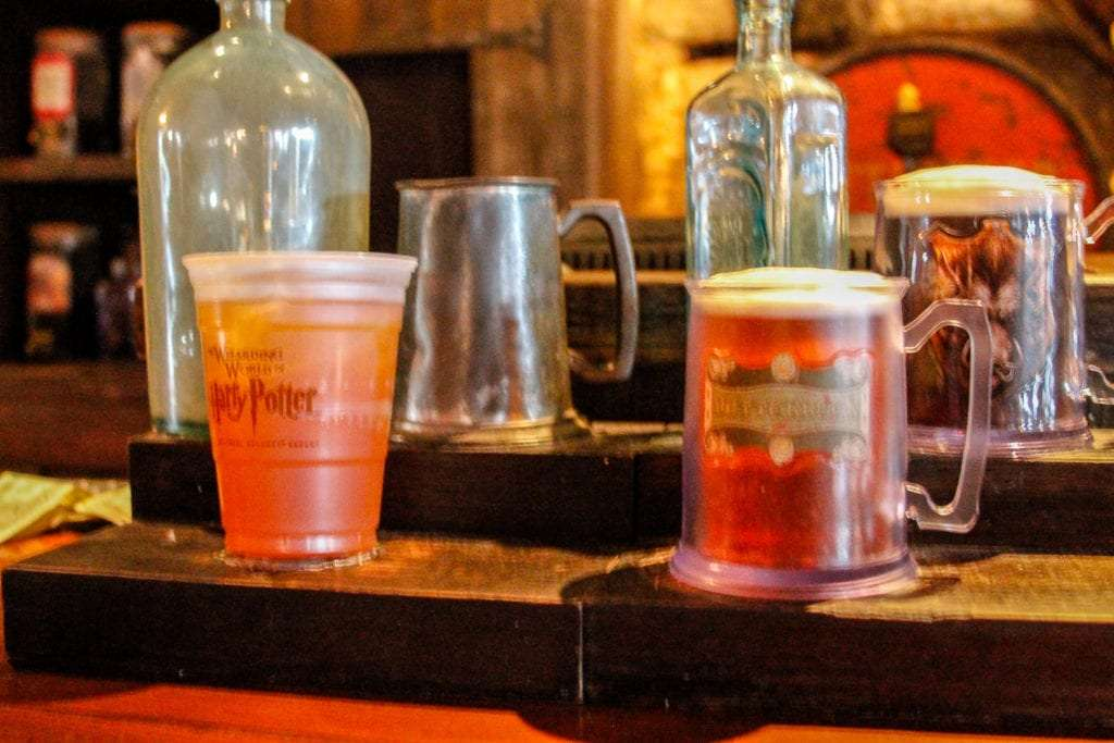 Butterbeer at Hogs Head