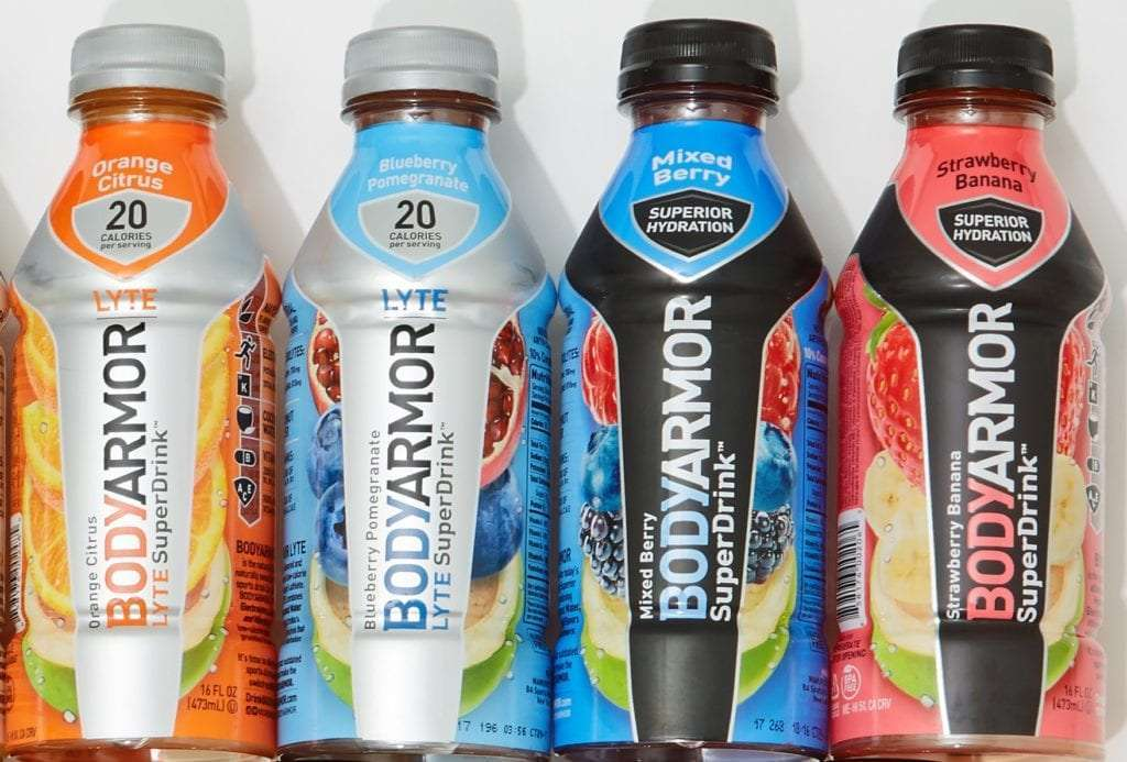 BODYARMOR Super Drink styles ready for a day trip