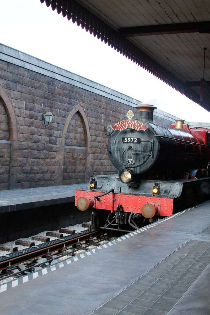 Hogwarts Express at Wizarding World of Harry Potter