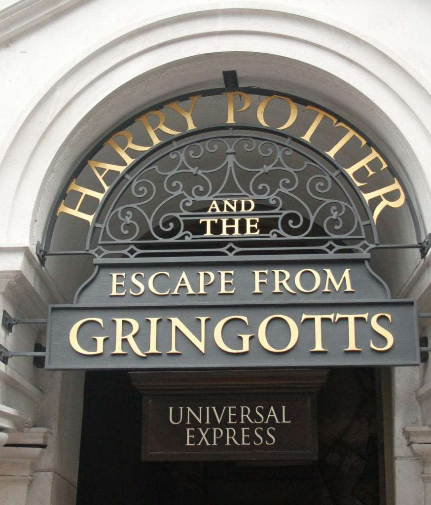 Universal Studios Tips Express Pass Harry Potter and the Escape from Gringotts