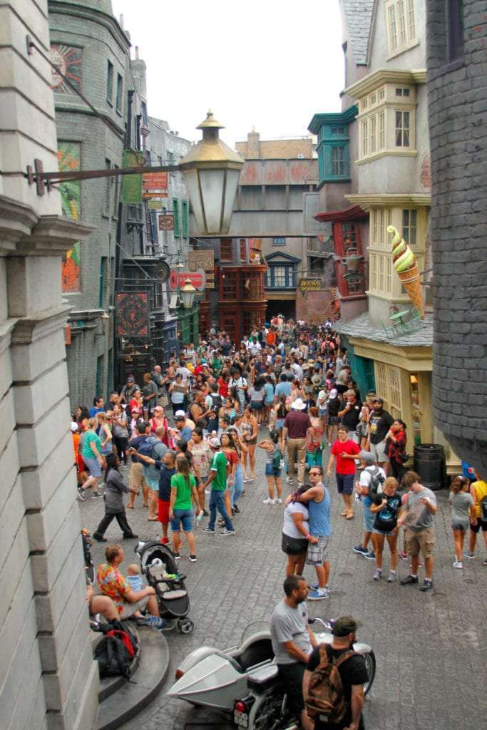 Universal Studios Tips Crowds at Diagon Alley