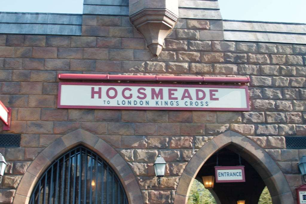 Hogsmeade Train Station at Everything about the Wizarding World of Harry Potter