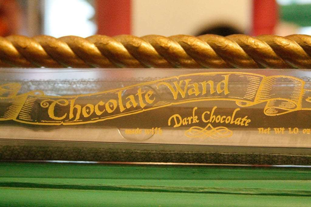 Harry Potter Food Chocolate Wand