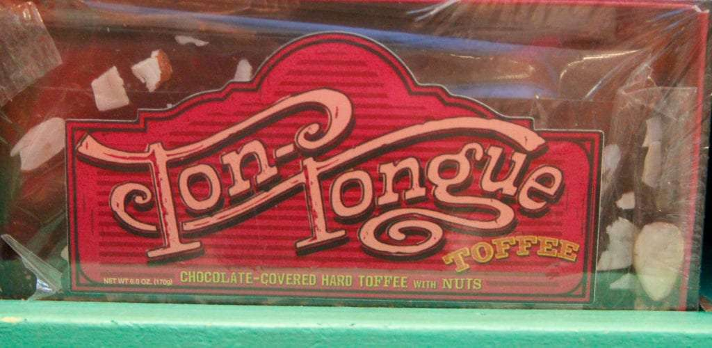 Harry Potter Food Ton Tongue Toffee