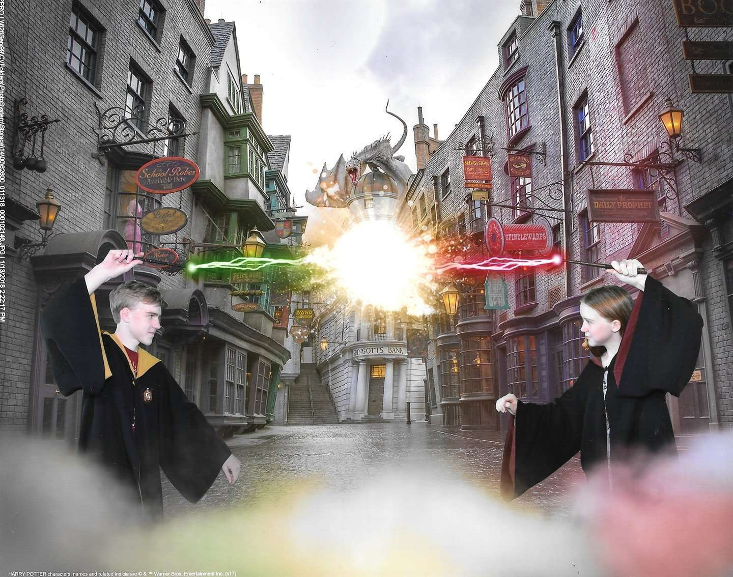 Get Your Own Harry Potter Moving Pictures at Shutterbutton's