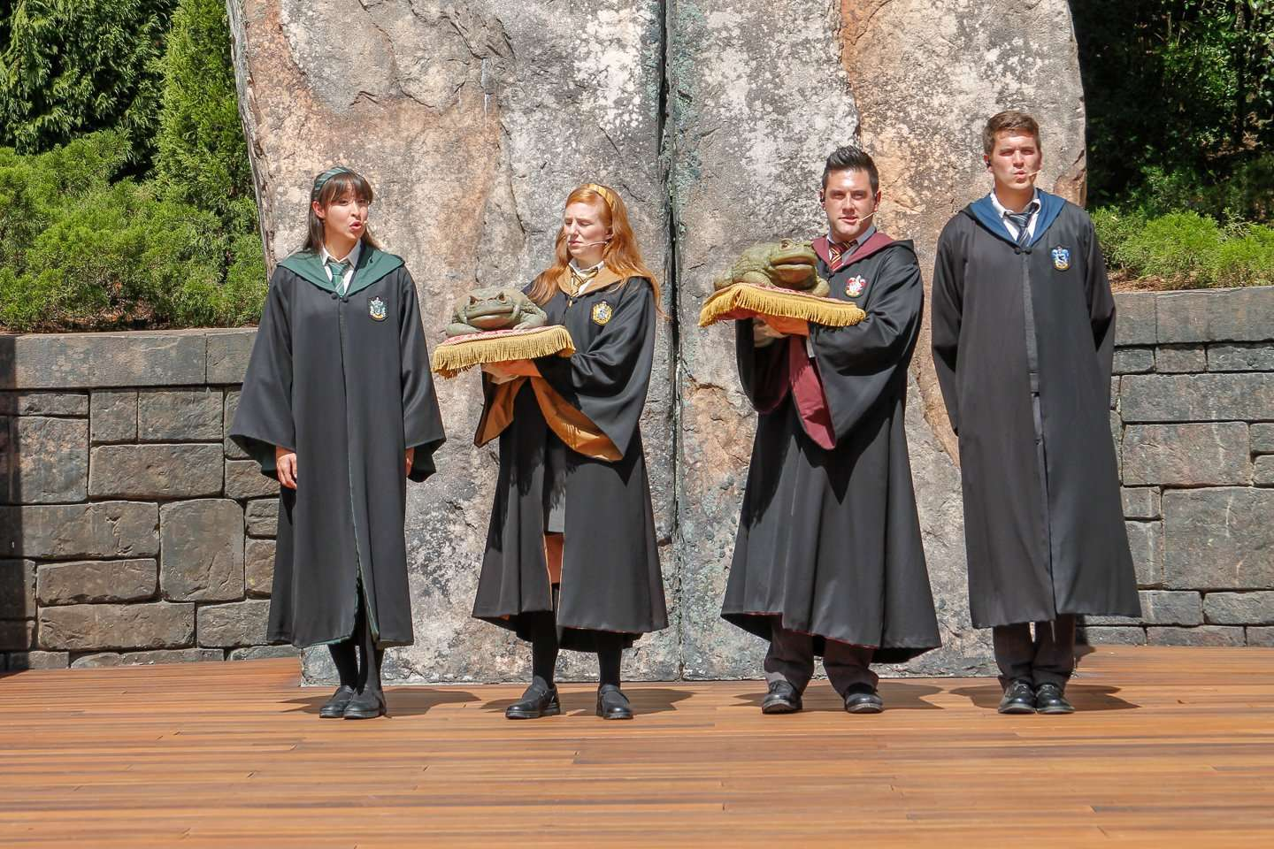 Frog Choir at Wizarding World of Harry Potter