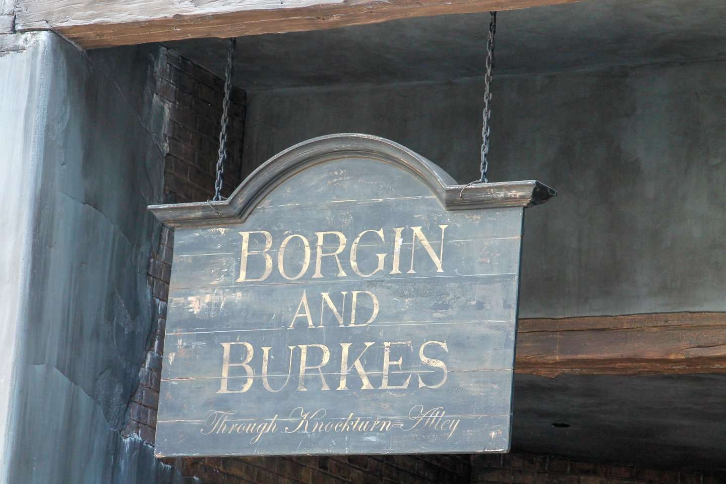 Borgin and Burkes at Wizarding World of Harry Potter